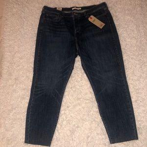Levi's Wedgie Skinny Jeans (plus size)
